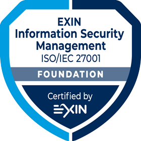 Information Security Foundation ISO/IEC 27001 Certified by eXIN